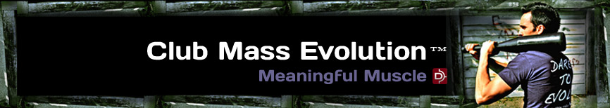 Club Mass Evolution - Club Training Program