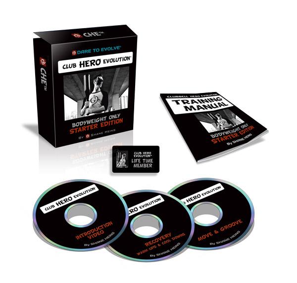 Club Hero Evolution™ - Bodyweight Only Starter Edition